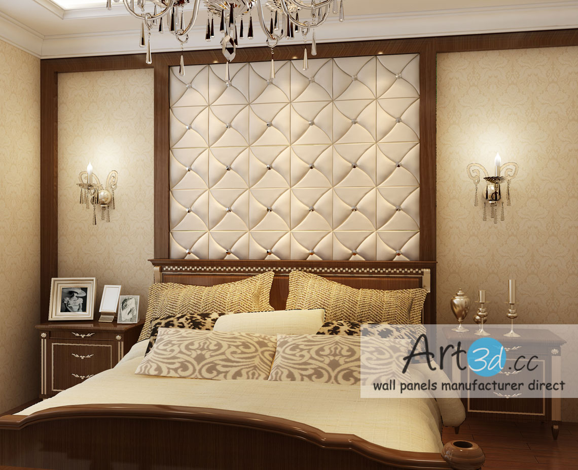 leather tiles in bedroom wall design bedroom wall design. beautiful ideas. Home Design Ideas