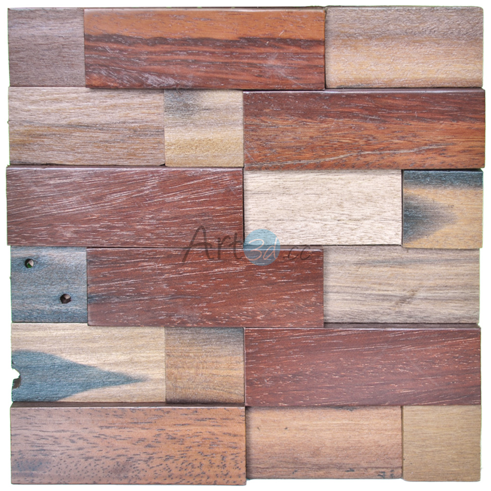 A15014 - 3D Wooden Wall Panelling 1 Box 10.66 Sq.Ft