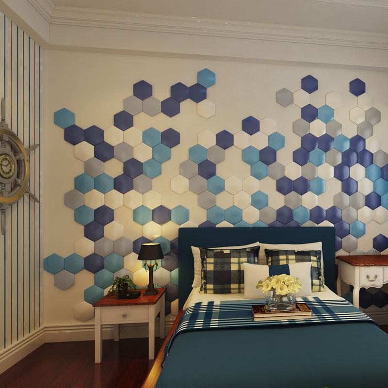 A12002 - 3D Leather Mosaic Tile (1 Piece)