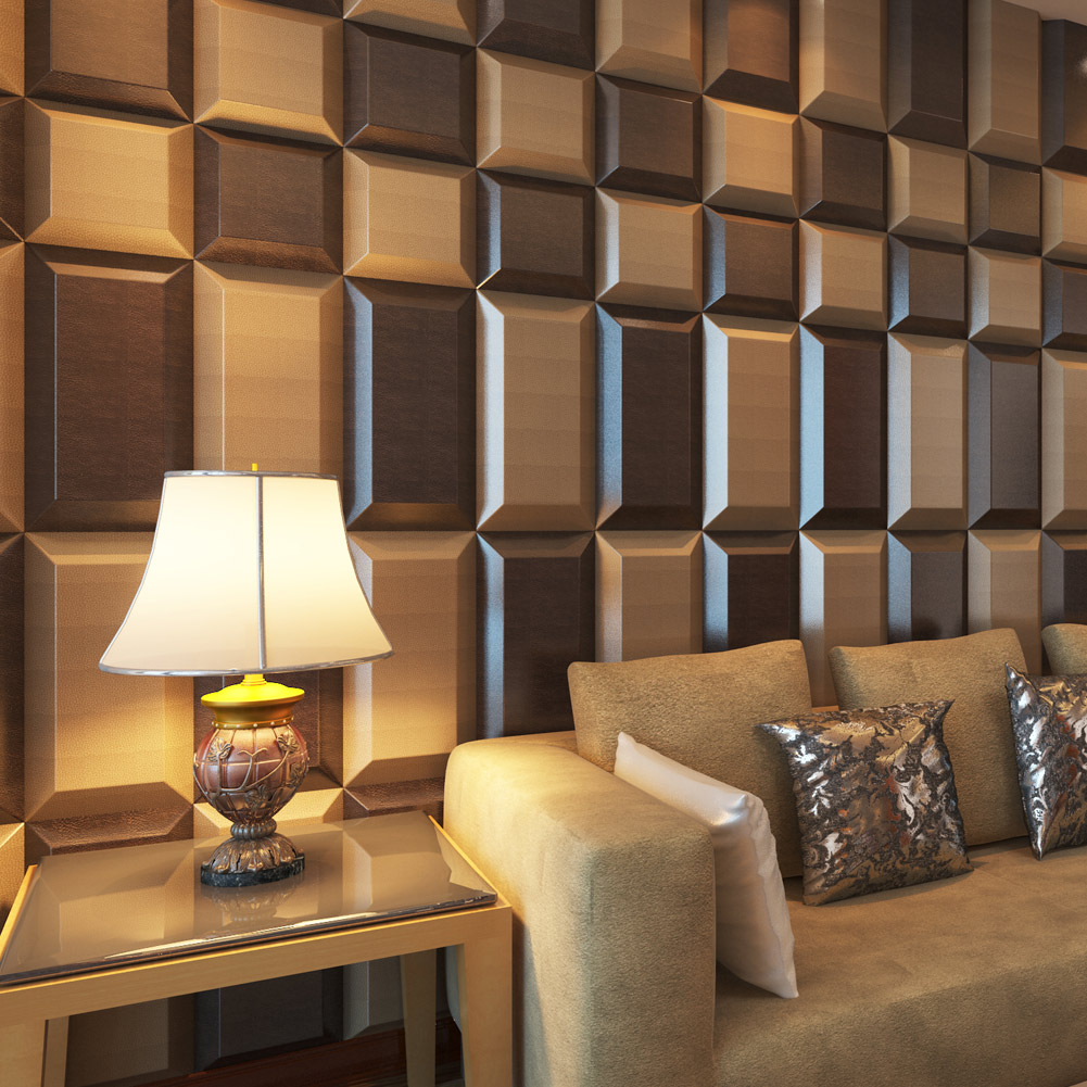 A12004 - Luxury Ceiling Wall Panel 3D Wall Coverings PU Material 30x60cm (1 Piece)