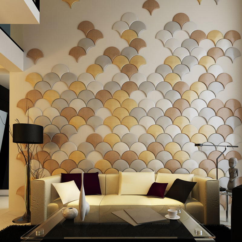 a12003 faux leather wall panel 1 piece - Wall Panels Interior Design