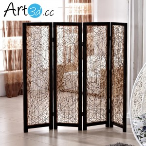A42003 – Folding Screen Walls 1 Set 4 Panels