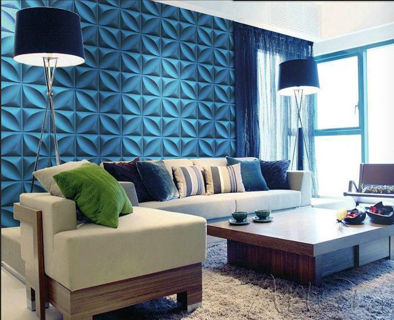 Interior Design Templates   Living Room Wall Panels
