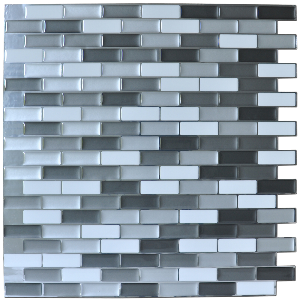 peel and stick mosaic tiles for kitchen bathroom backsplashes