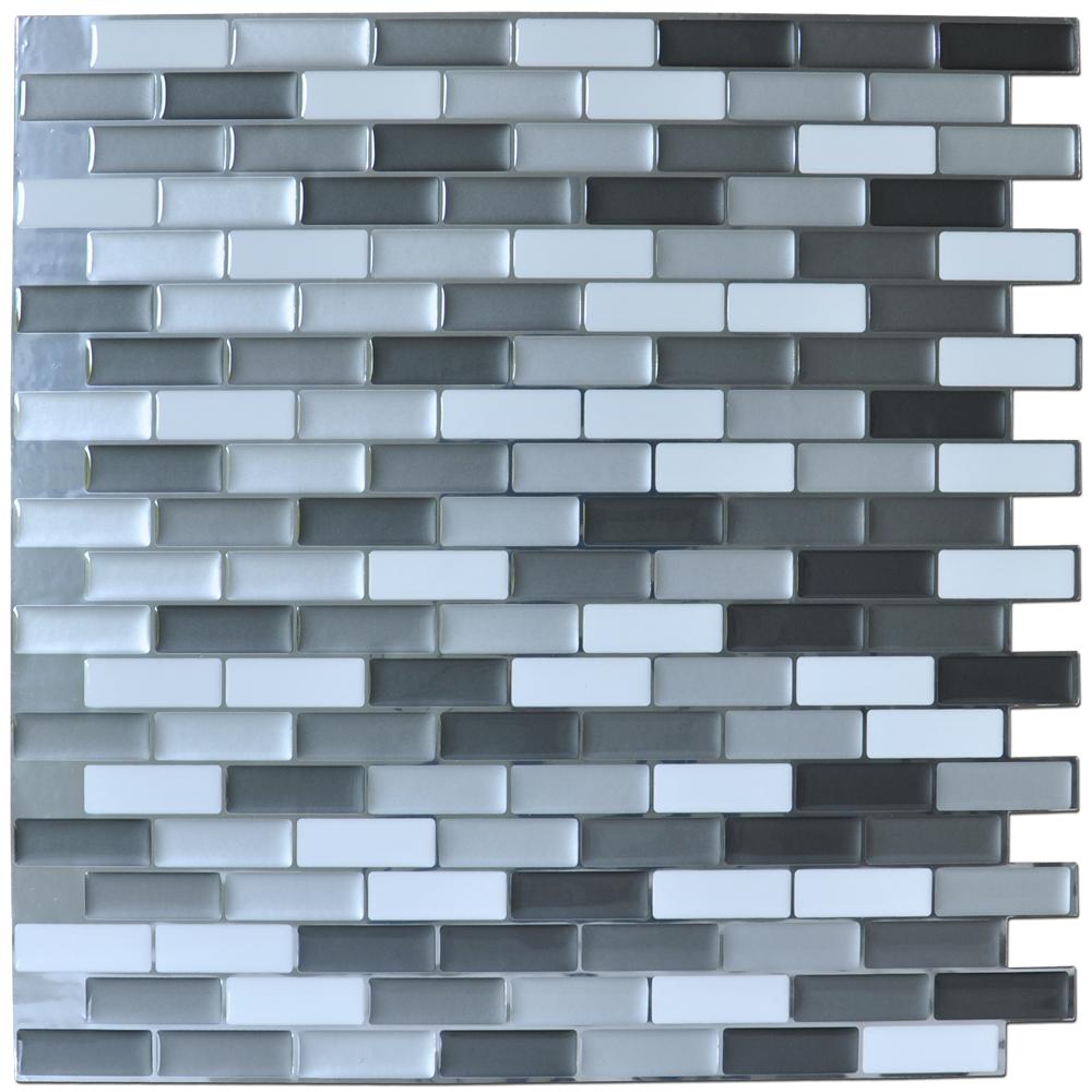 home backsplash tiles vinyl peel stick tile a17001 peel and stick