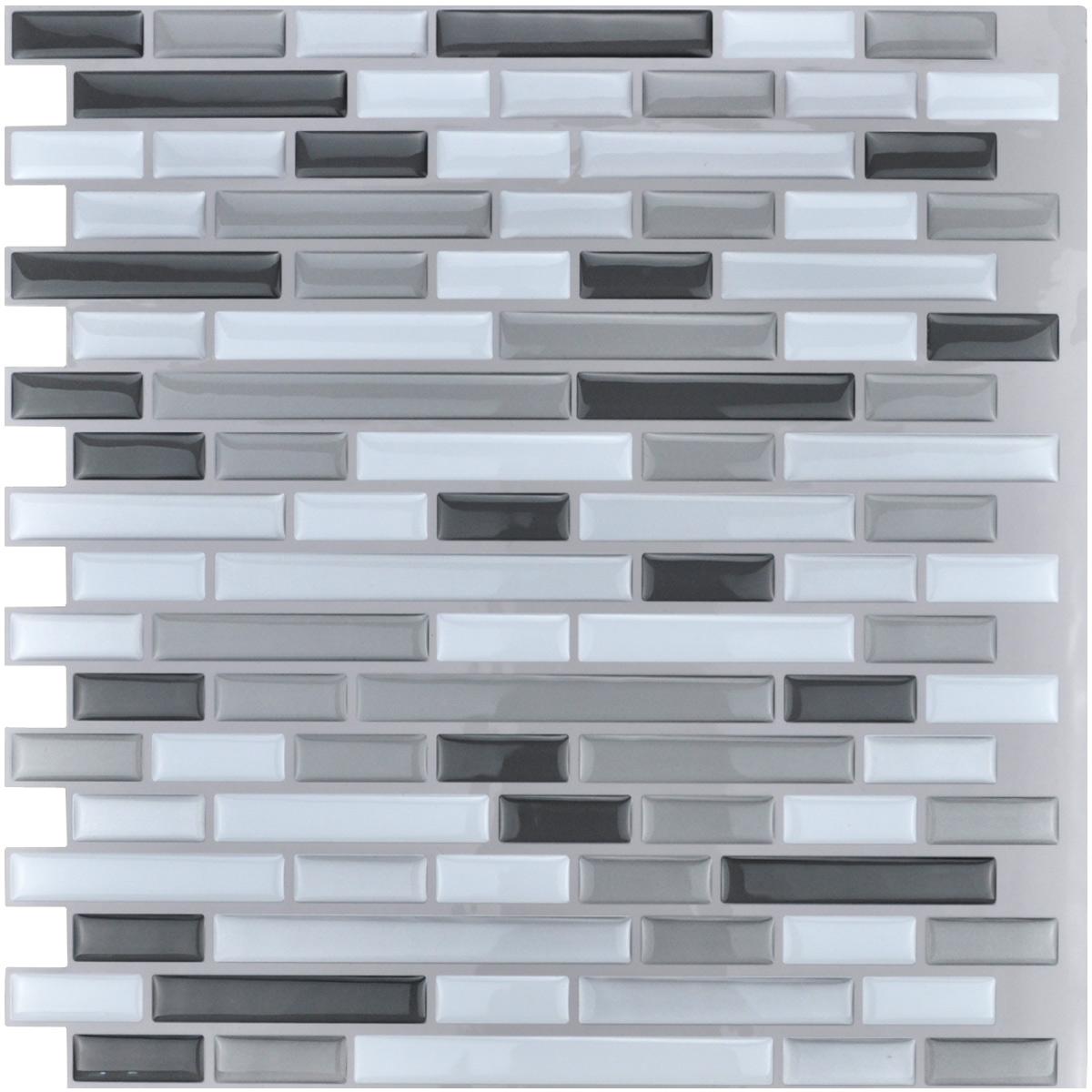 Peel and Stick Backsplash Tile for Kitchen, 12\