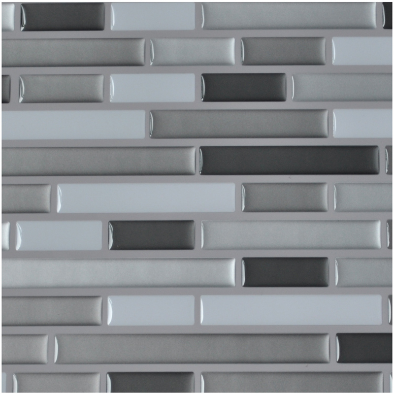 Peel And Stick Tile Bathroom Backsplash Wall Tile 10 Pieces 9.5 Sq.Ft Part 79