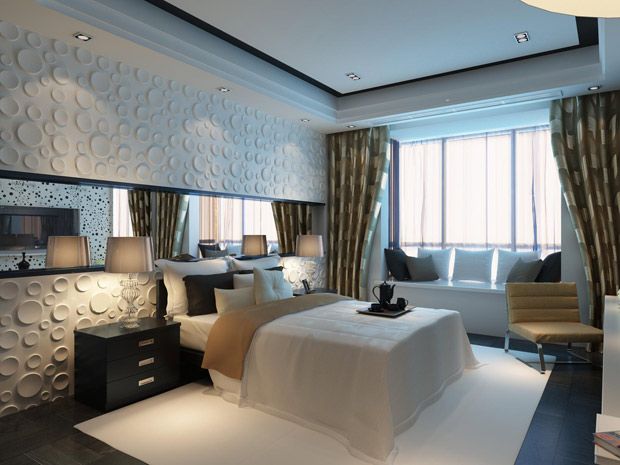 20 Amazing Interior Design Ideas with 3D Wall Panels
