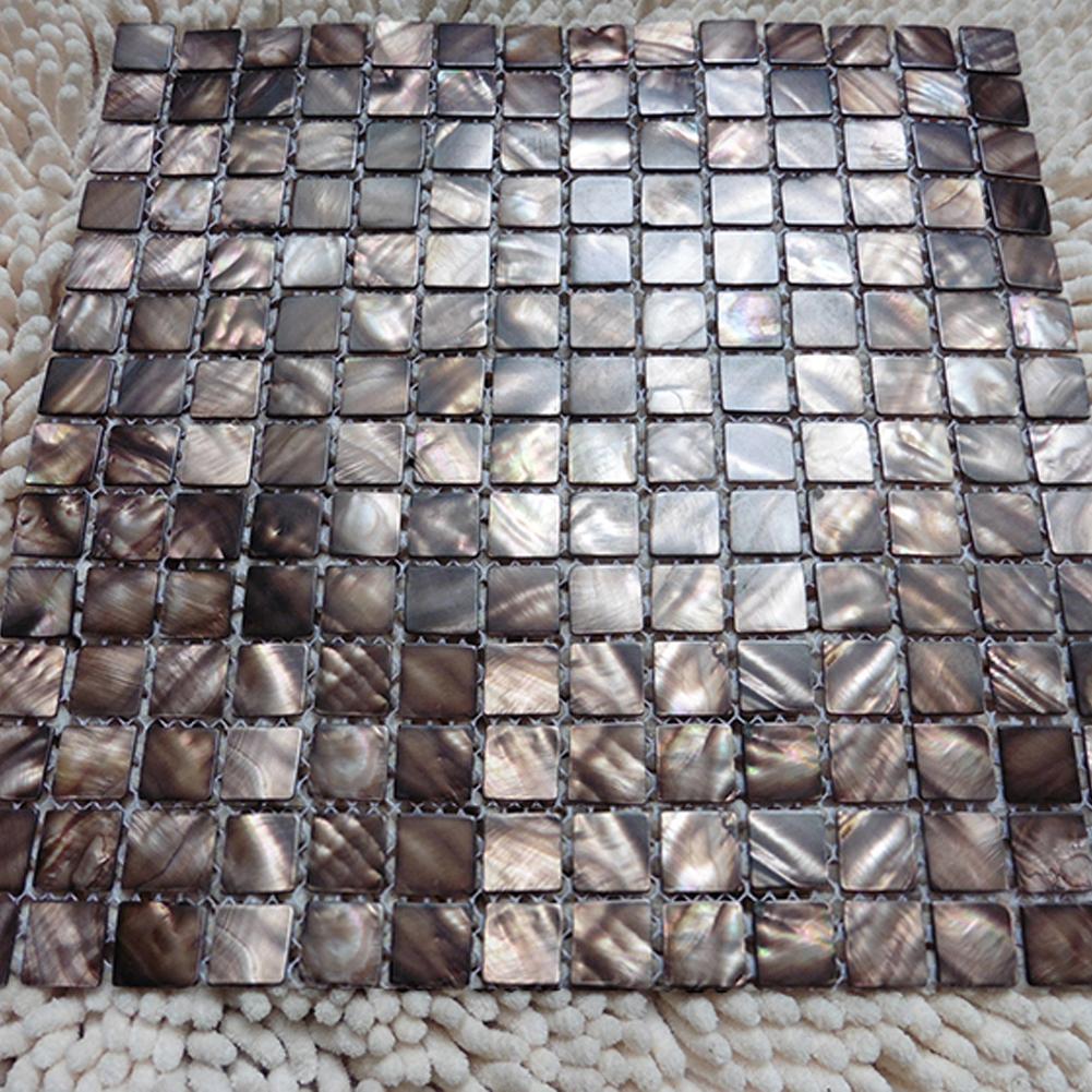 6-Pack Pearl Mosaic Tile Backsplash Tile 20mm Chips 5.8 Sq Ft ...