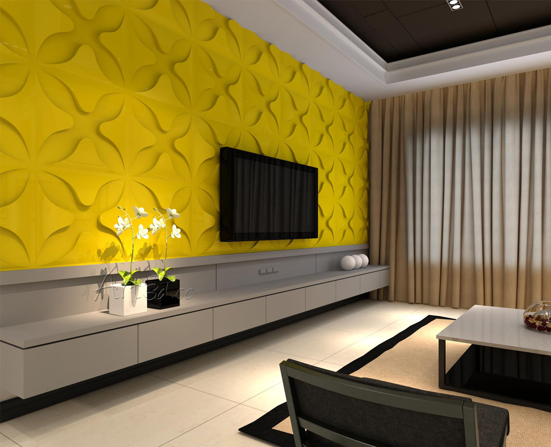 TV Wall Panels | TV Background Wall Panels | 3D Wall Panels