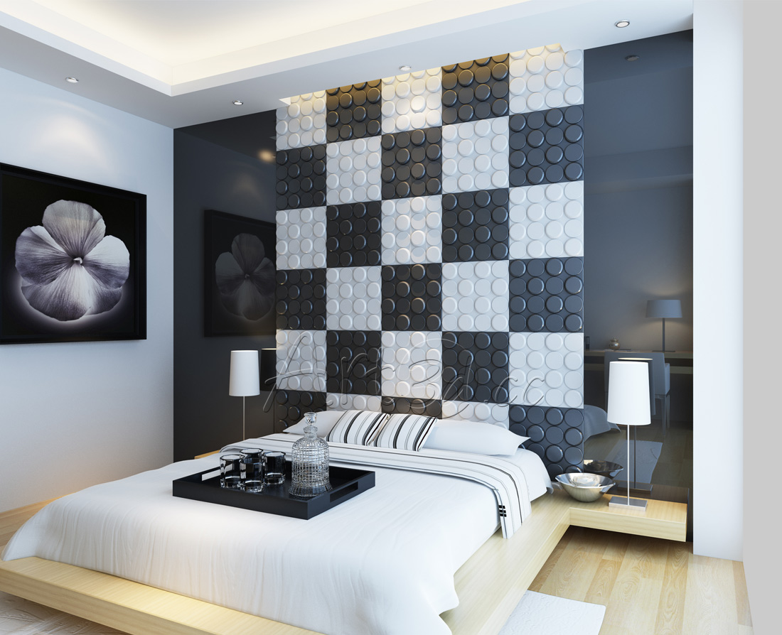 10 templates to inspire your bedroom wall ideas