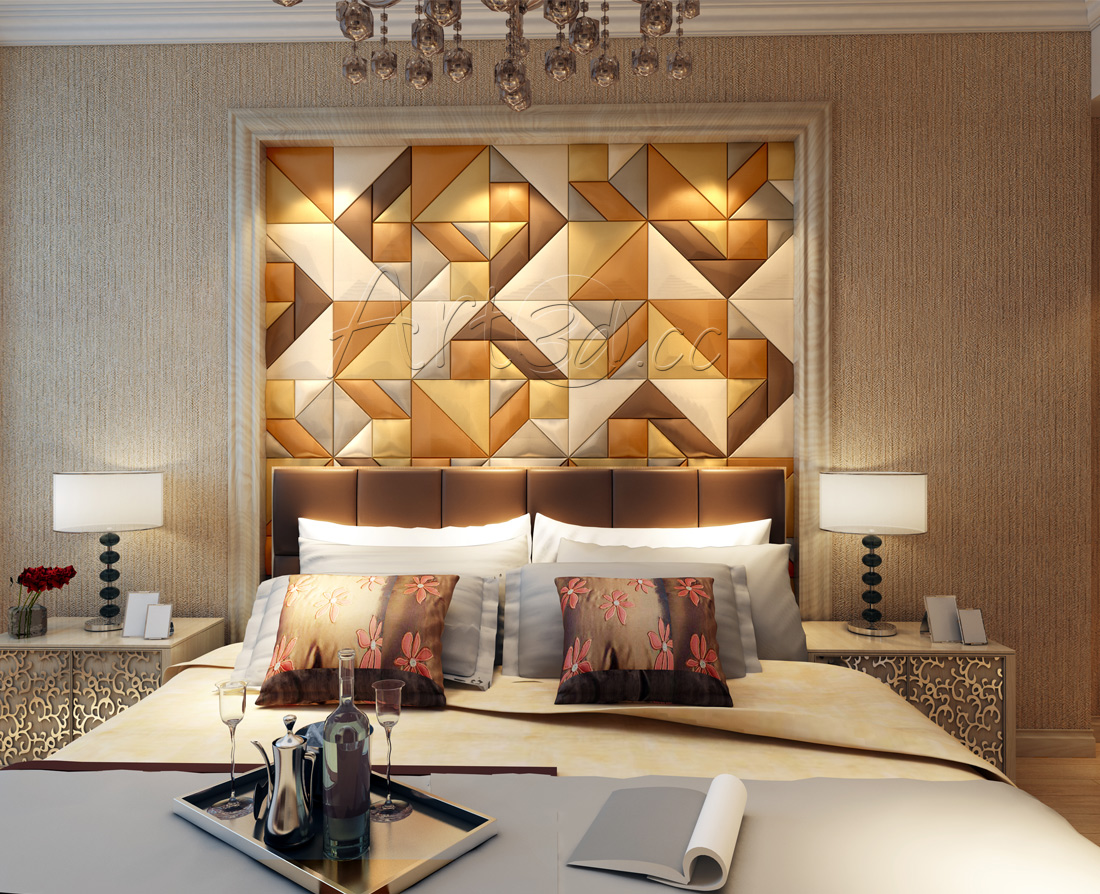 Interior Design Ideas   Bedroom Wall Panels