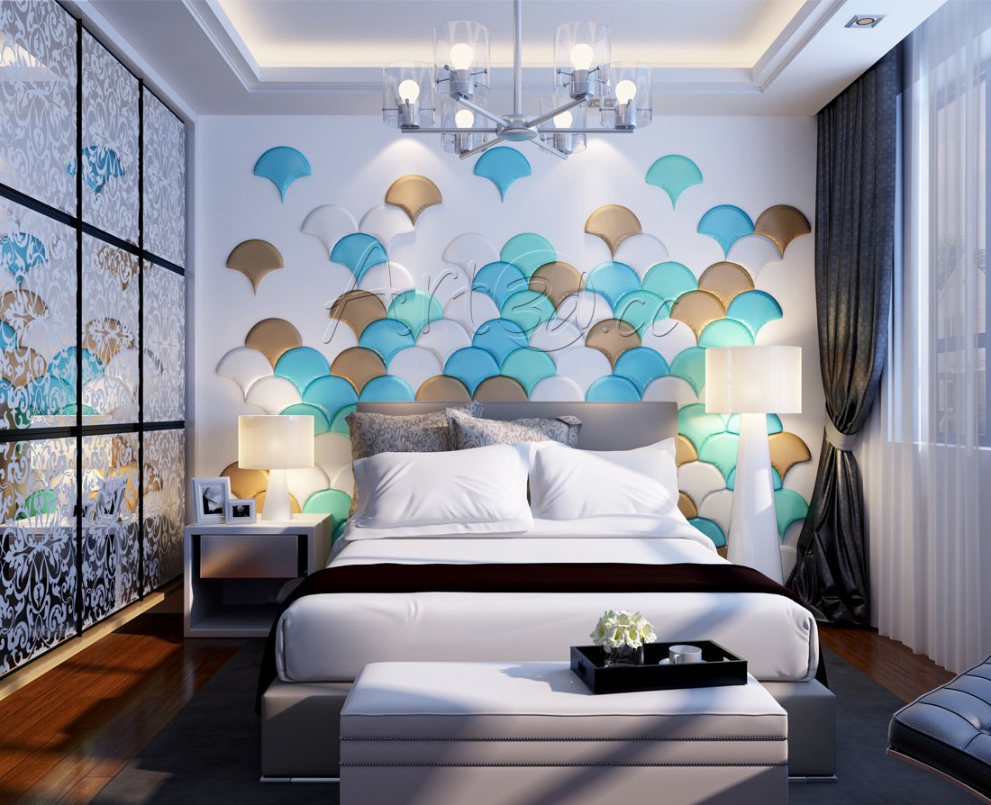 Awesome Interior Design Ideas   Bedroom Wall Panels
