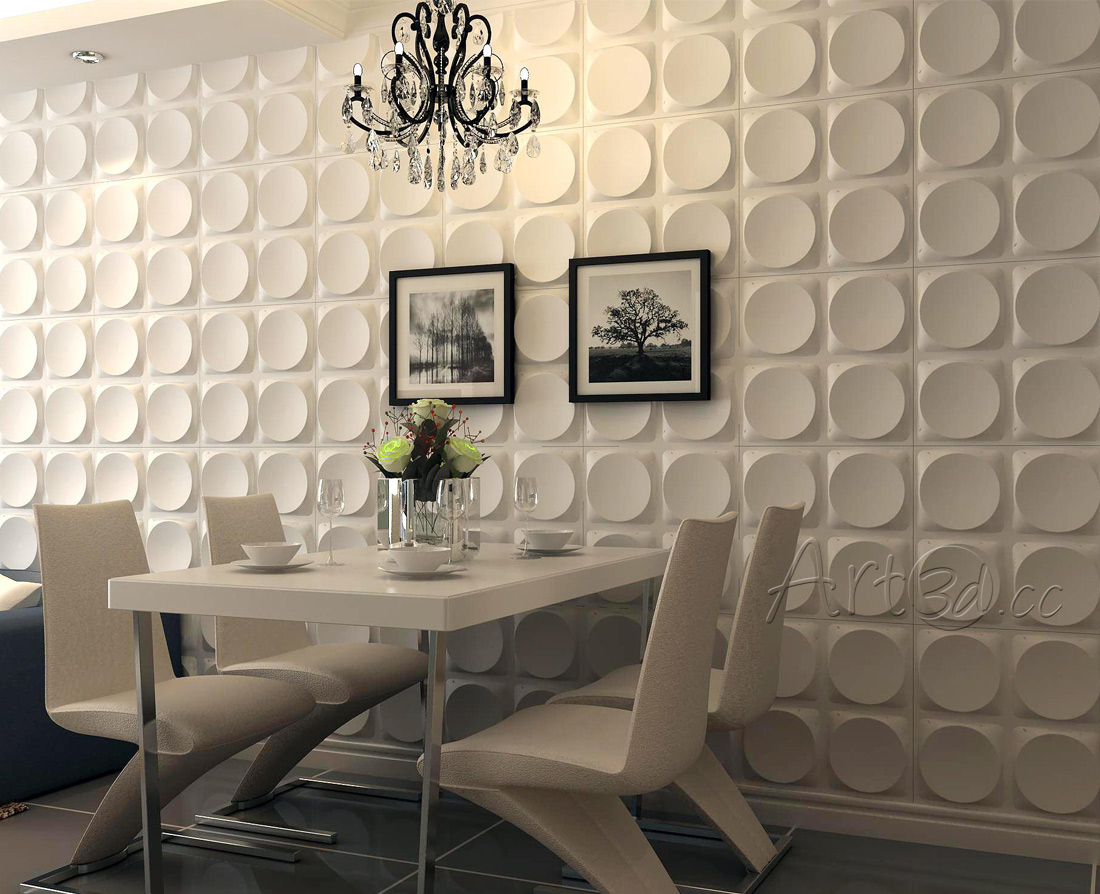 Living room wall panels for Dining wall design