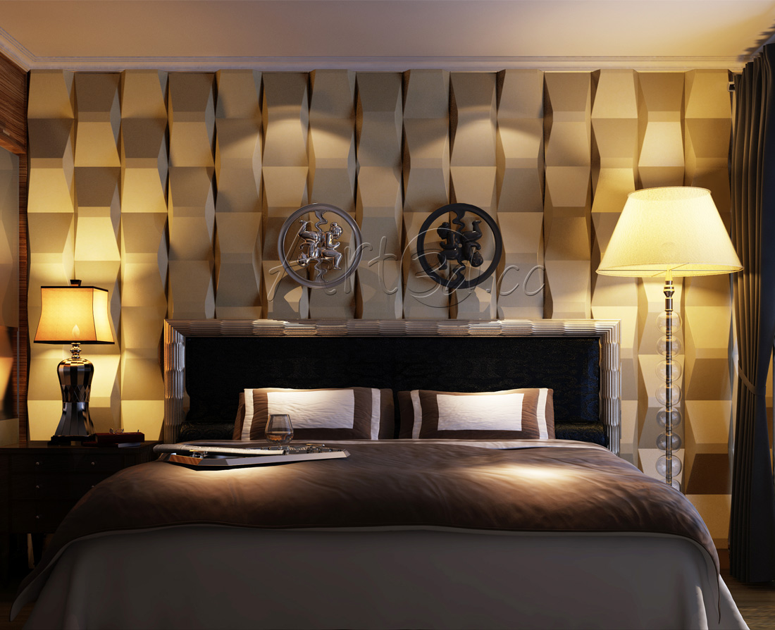 Living room wall panels for Interior design ideas bedroom