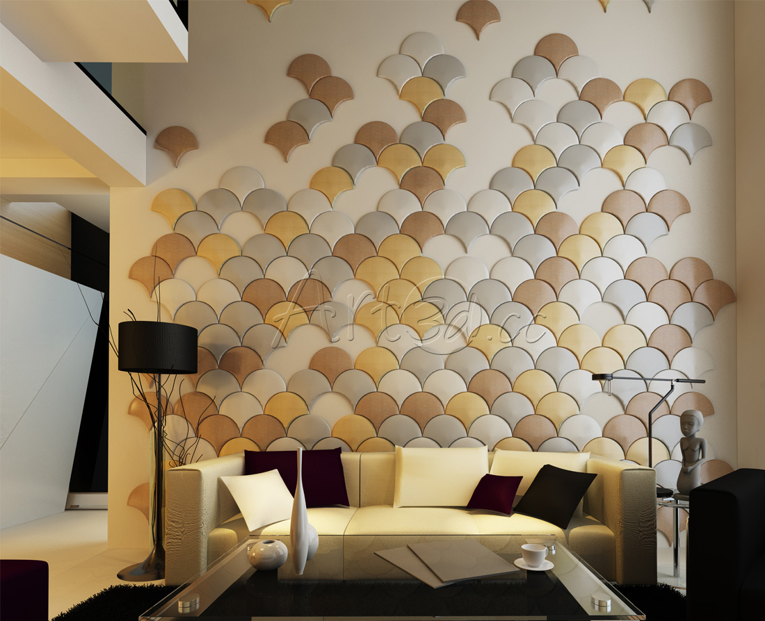 Wall Design Pic : Living room wall panels