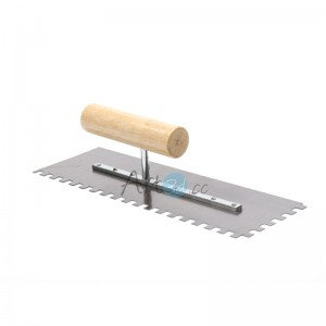 A90011 - Notch Trowel for Installation of Mosaic Wall Tiles