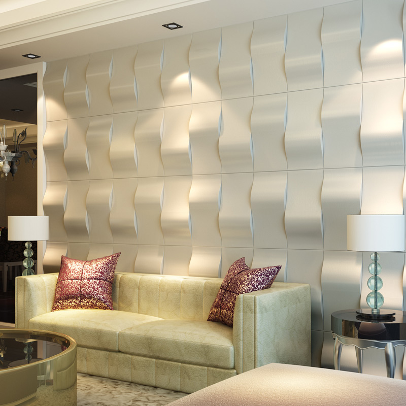 A12025 - Eco Leather Wallcovering 3D Leather Wall Tile 9.8