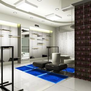 A11003 - Creative Fluid Dance Floor Liquid Fusion Floor Tile 1 Piece 50cmx50cm