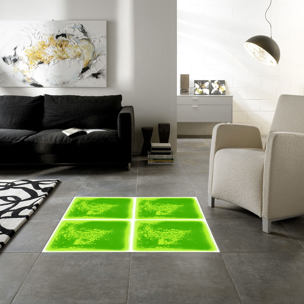 decorative floor system