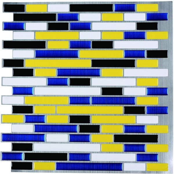 Peel and Stick Tiels Kitchen Decorative Wall Tiles Backsplash 9.5 Sq.F