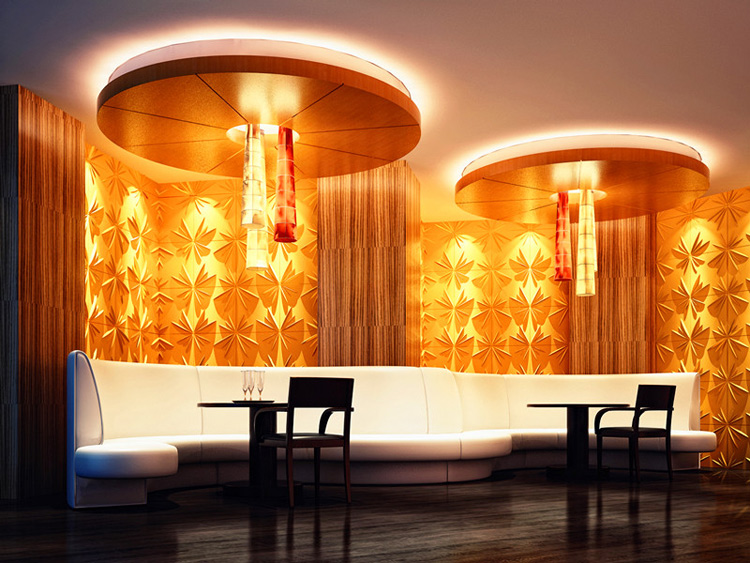 3D Wainscot Wall Panels