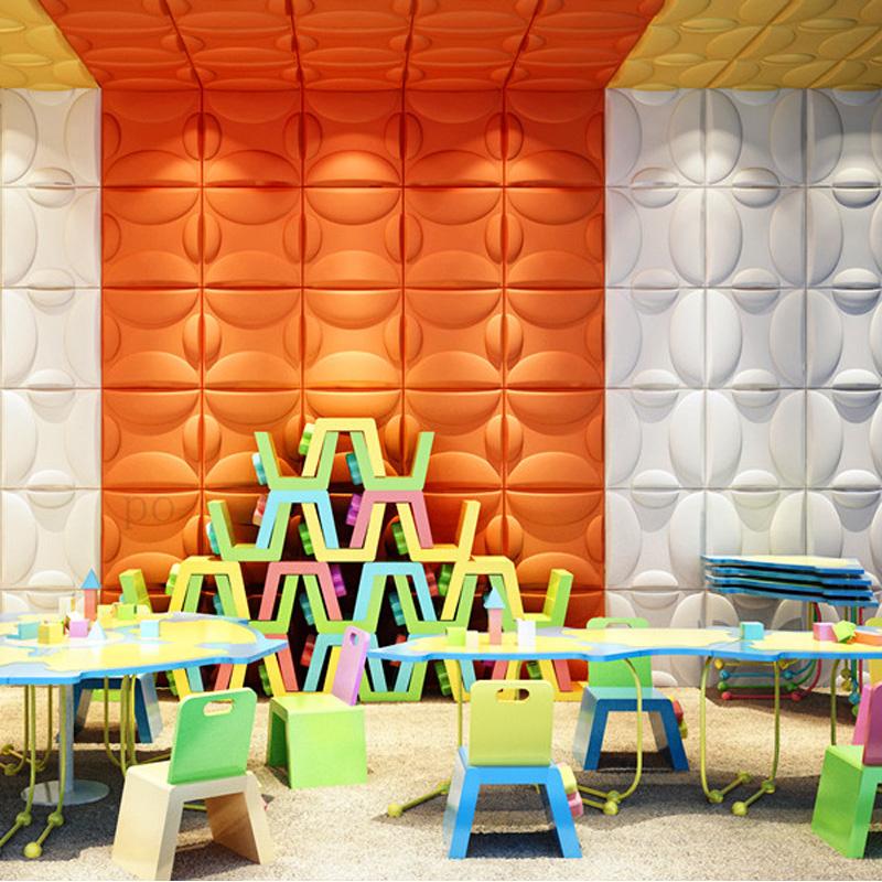 A21036 - 3D Textured Wall Board Plant Fiber Material 1 Box 3 m² or 32.29 Sq.Ft