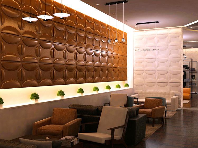 3D Textured Wall Board