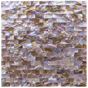 A18005 - Mini Brick Natural Pearl Tile for Kitchen Bathroom Wall Backsplash 9.7 Sq.ft
