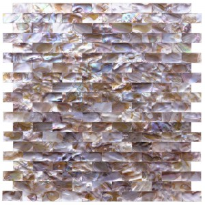A18013 - Natural Mother of Pearl Oyster Shell Mosaic Tile, 12