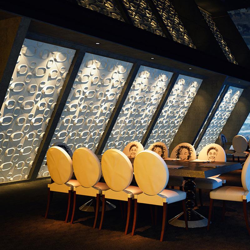 A21043 - Eco 3D Wall Paper Plant Fibers Wall Panels 1 Box 32 Sq.Ft