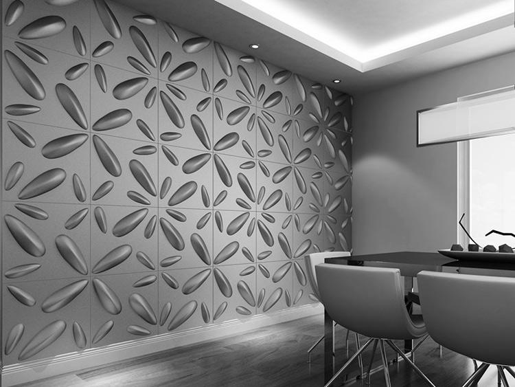 Embossed 3D Wall Art