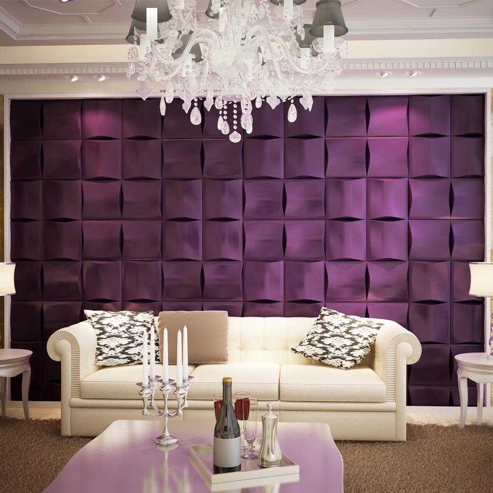 Leatherlike Wall Tile Effect Soft