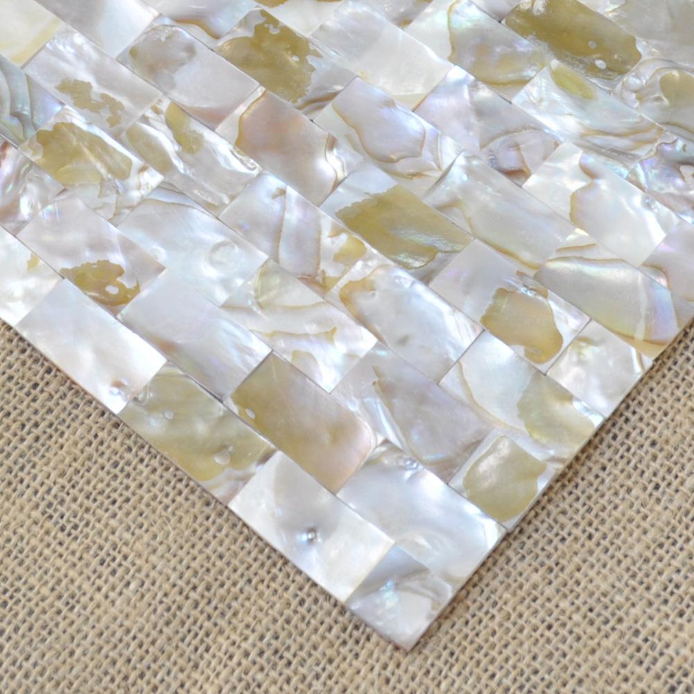 Mini Brick Natural Pearl Tile