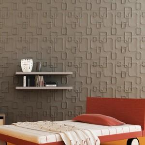 A21053 - Plant Fiber 3D Wall Décor Material White 1 Box 12 Panels 32 Sq.Ft