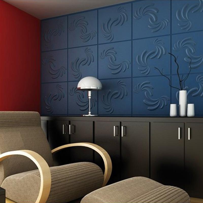 A21047 - Recyclable 3D Wallpaper Plant Fibers Material 1 Box 32 Sq.Ft