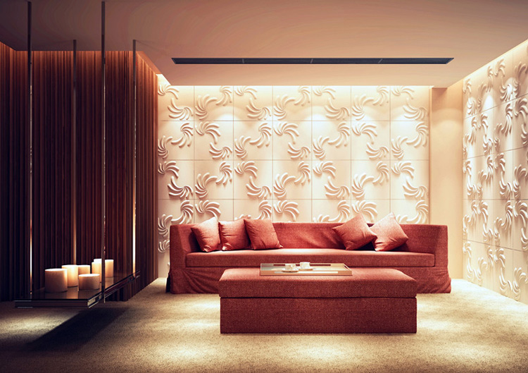 Recyclable 3D Wallpaper