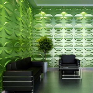 A21035 - Eco 3D Wall Paneling Plant Fiber Material 1 Box 3 m² or 32.29 Sq.F