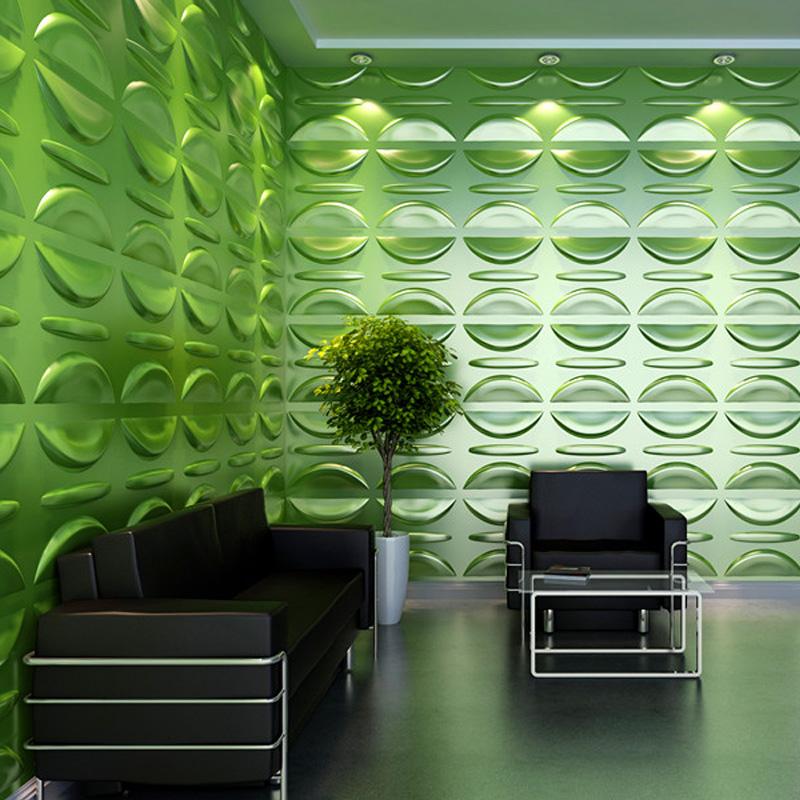 A21035 - Eco 3D Wall Paneling Plant Fiber Material 1 Box 3 m² or 32.29 Sq.F