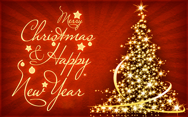 Art3d Wish You Merry Christmas and Happy New Year!