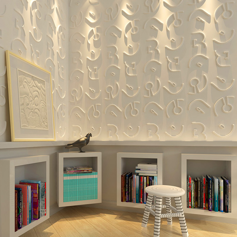 A21039 - ThreeDwall Paintable Textured Paneling 1 Box 12 Panels 32 Sq.Ft