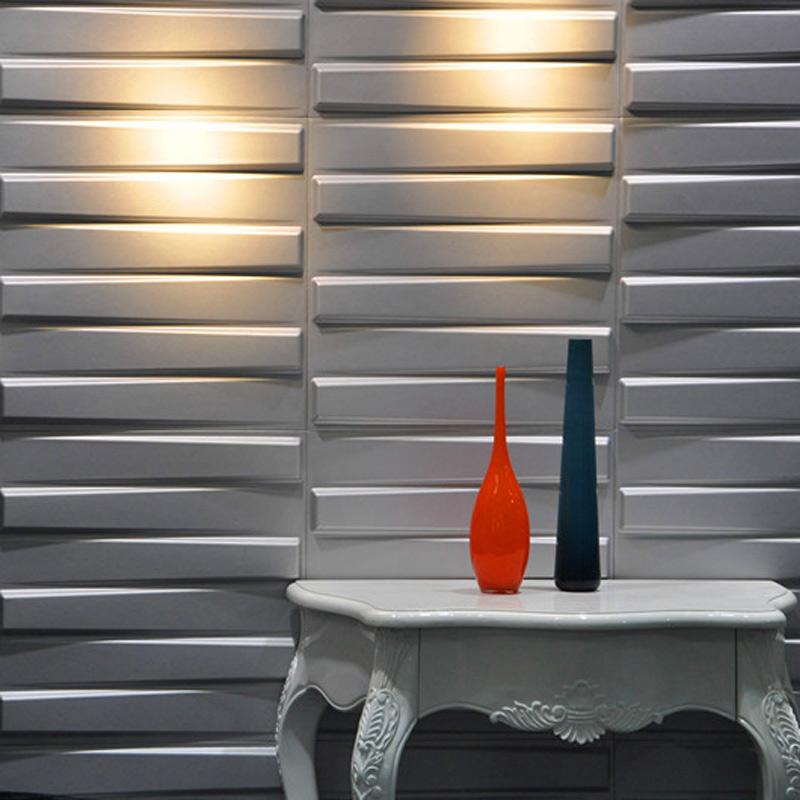 A21040 - Wall Flats 3D Decorative Wall Panels 1 Box 12 Pieces 32 Sq.Ft