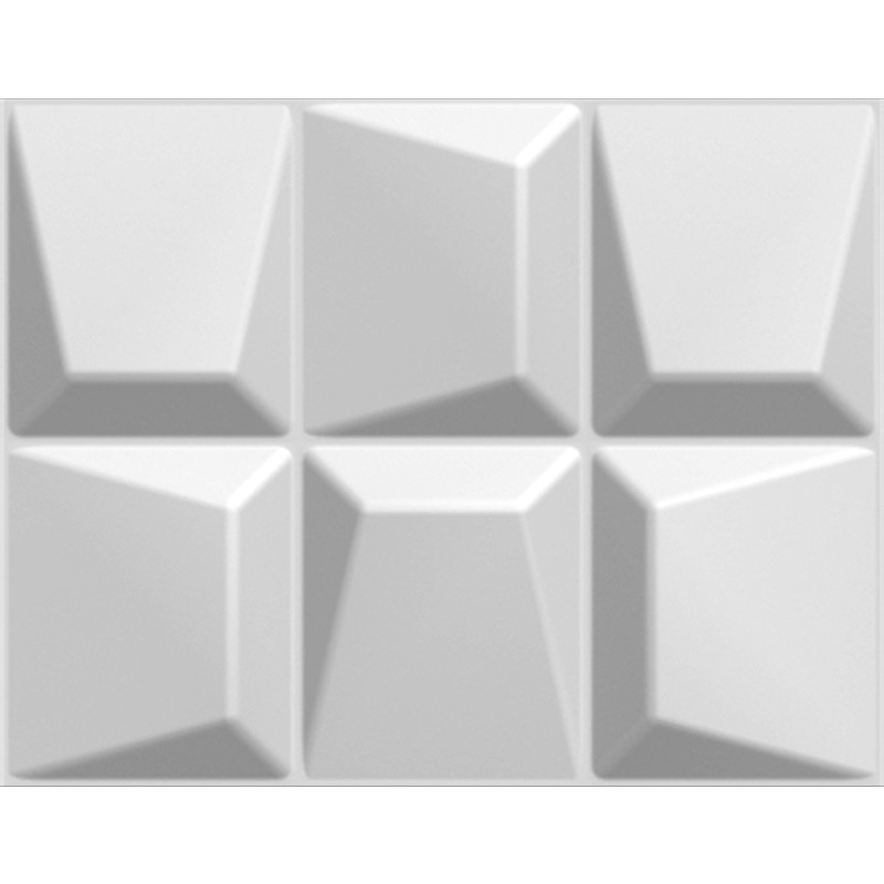 3 Dimensional Wall Wainscoting Plant Fiber Off White Set
