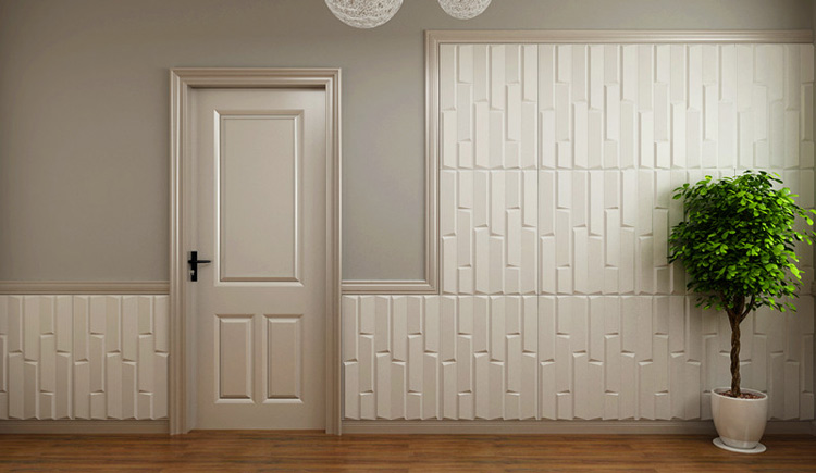 3D Bricks Wall Panels