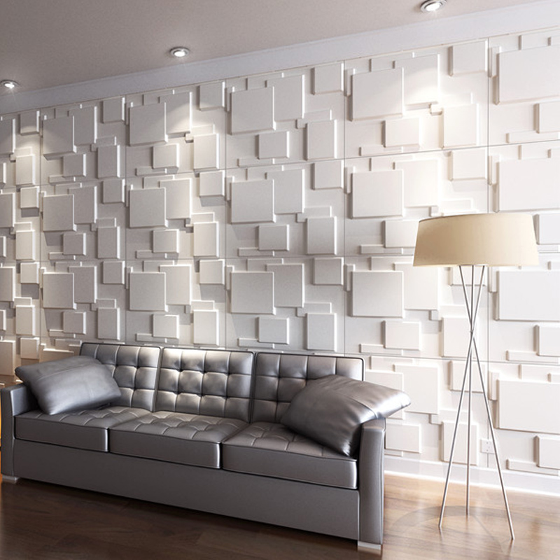 A21060   3D Wall Panels For Interior Wall Design Brick Style, 6 Tiles 32 SF