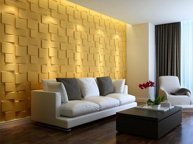 Plant Fiber Wainscot Wall Panels