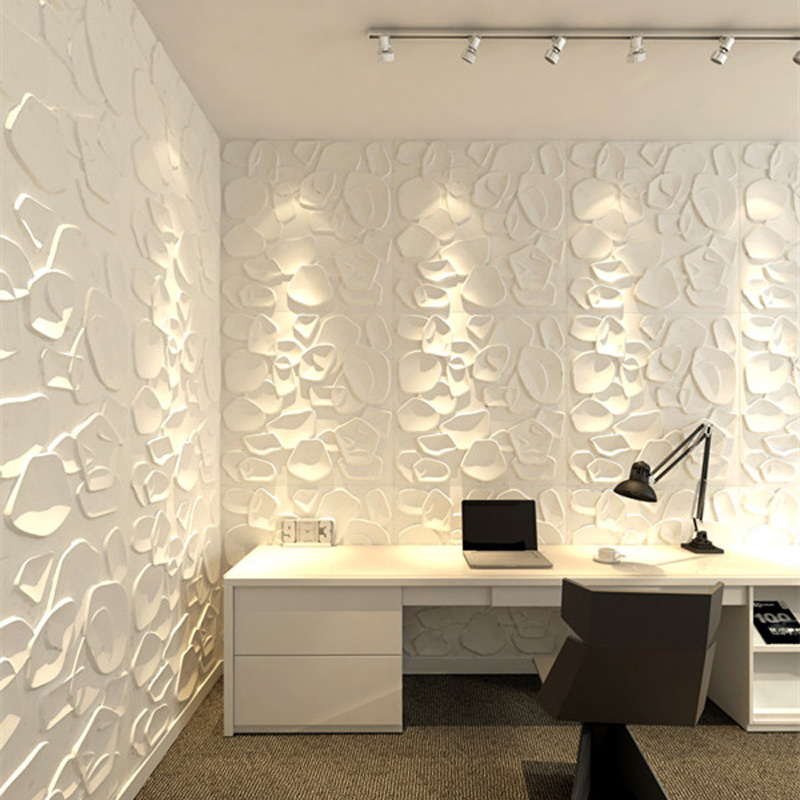 Textured Wall Art 3d Wall Panels Primitive White Set Of