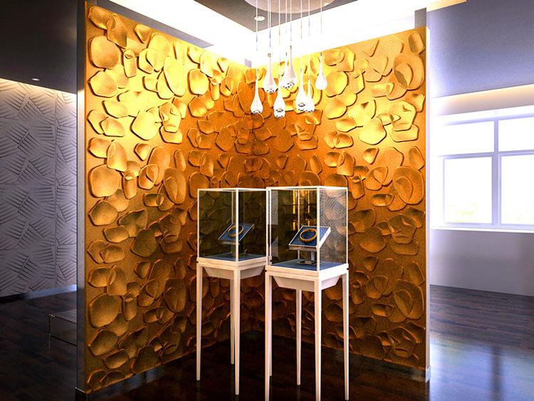 Textured Wall Art 3D Wall Panels