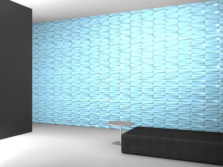 Three Dimensional Wall Panel