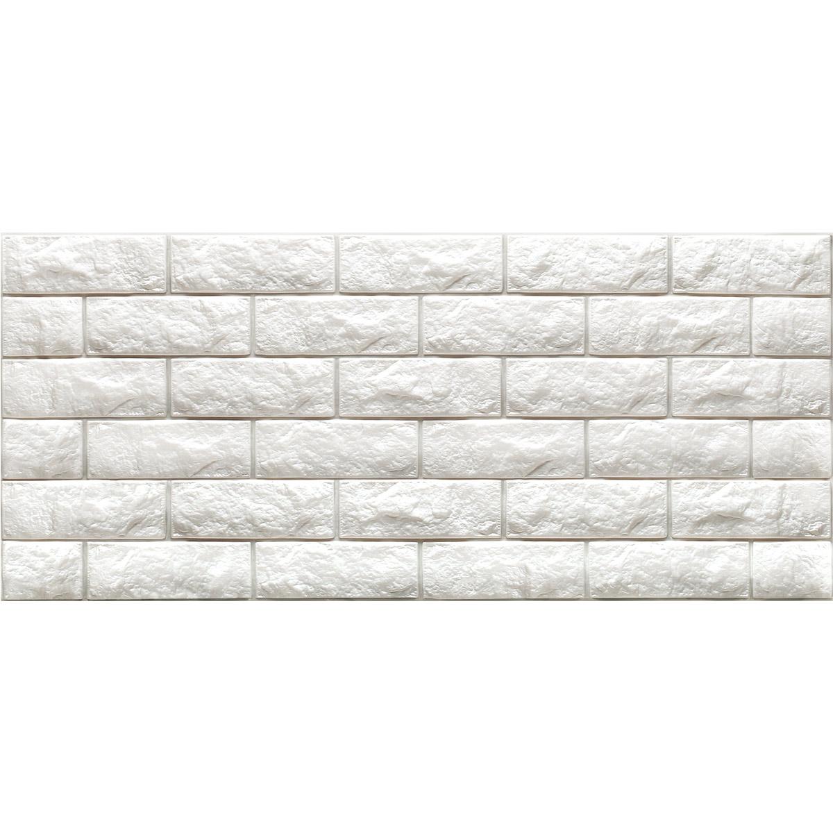 Peel amp Stick 3D Wall Panels Foam Block Brick Design 10